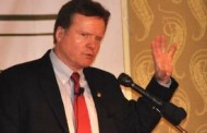 Senator Webb Speaks at the Potomac Officers' Club