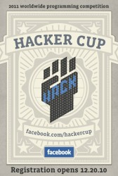Facebook Announces 2011 Hacker Cup - top government contractors - best government contracting event