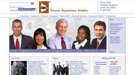 DRC Hires Daphne Zweifel as Federal Group VP - top government contractors - best government contracting event