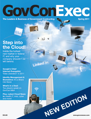 GovConExec Magazine Launches Cloud Computing Issue - top government contractors - best government contracting event