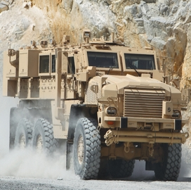 BAE to Convert Army MRAP Vehicles; Robert Houston Comments - top government contractors - best government contracting event