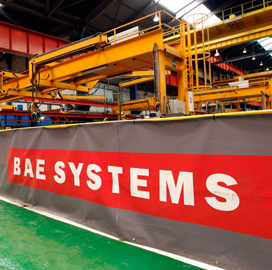 BAE Systems Detica Chosen For $119M IT Contract; Martin Sutherland Comments