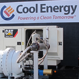 Cool Energy Looks to Drive Fuel Savings for Industry & Military with New Engine Technology