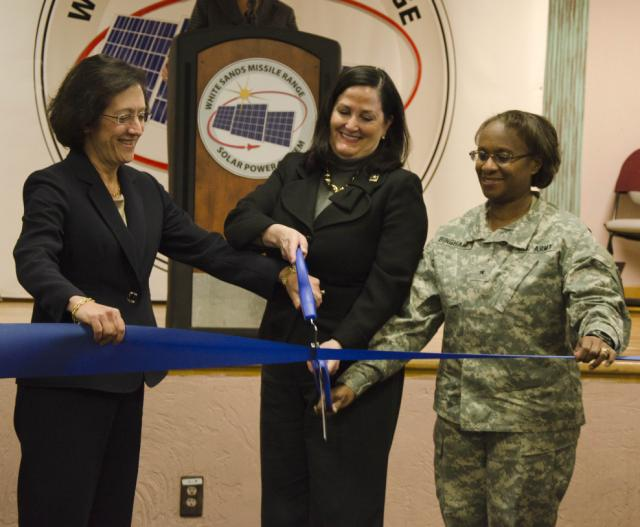 Army Unveils Siemens-Built Solar Power System; Judy Marks Comments
