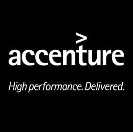 Accenture, Salesforce Build World Economic Forum Social Media Wall - top government contractors - best government contracting event
