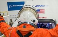 Boeing Displays CST-100 Spacecraft Prototype Model at Kennedy Space Center; John Elbon Comments