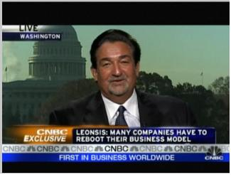Ted Leonsis on CNBC Urges Companies to reboot - top government contractors - best government contracting event