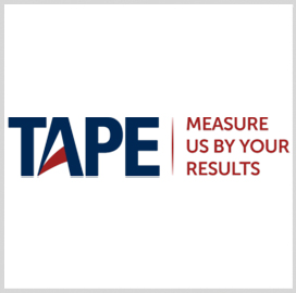 TAPE Wins 3-Year Army Training Model Mgmt Extension - top government contractors - best government contracting event