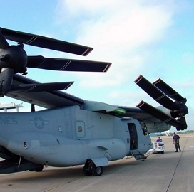 Bell Helicopter, Boeing JV Secures $55M Navy Contract Modification for V-22 Repairs - top government contractors - best government contracting event