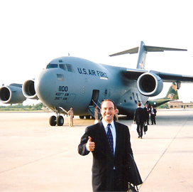 Juan Zarate, Air Force plane, ExecutiveMosaic