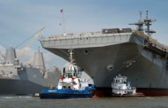 Huntington Ingalls Division Unveils Navy's 2nd America-Class Amphibious Assault Ship