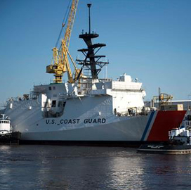 Ingalls, Coast Guard Aim for 'James' Cutter to Enter Seas in 2015