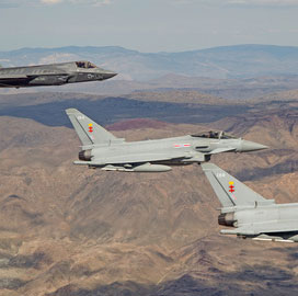 Tony Hall: BAE Puts F-35, Typhoon Aircraft Through 4th Simulated Scenario - top government contractors - best government contracting event