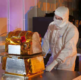 Ball Aerospace Receives Northrop's CERES Instrument for Integration Into NOAA Satellite - top government contractors - best government contracting event