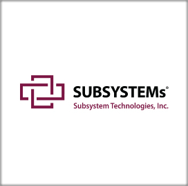 Army Taps Subsystem Technologies for Weapon Logistics Support; Indra Nayee Comments - top government contractors - best government contracting event