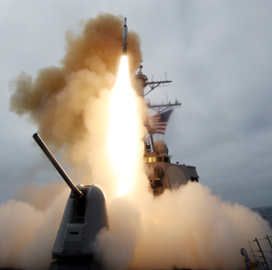 Lockheed Demos Surface-Launched Anti-Ship Missile Variant - top government contractors - best government contracting event