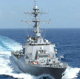 Navy Preps Arleigh Burke-Class Destroyer Construction RFP - top government contractors - best government contracting event