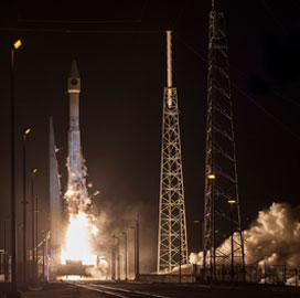 Lockheed-Built CLIO Satellite Launches Into Space - top government contractors - best government contracting event