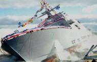 Lockheed, Industry Partners Launch 7th Littoral Combat Ship for Navy; Dale Bennett Comments