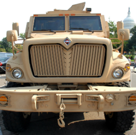 Navistar Defense to Refresh 250 Army Mine-Resistant Ambush