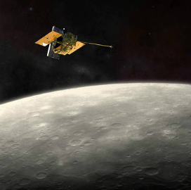 NASA Releases Mercury's Initial Global Topographic Model from Messenger Mission; Kris Becker Comments - top government contractors - best government contracting event