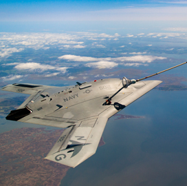 Tony Smeraglinolo: Engility Helps Navy Facilitate X-47B Aerial Refueling Test - top government contractors - best government contracting event