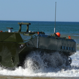 Marine Corps to Test BAE, SAIC Amphibious Combat Vehicle Prototypes in 2017; John Swift Comments - top government contractors - best government contracting event