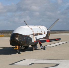 Heather Wilson: Air Force's X-35B Spaceplane to Take Off Aboard SpaceX's Falcon 9 Rocket - top government contractors - best government contracting event