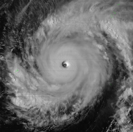Japan Weather Satellite Tracks Typhoon Maysak Through Exelis Imager - top government contractors - best government contracting event
