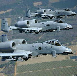 Air Force Issues A-10 Thunderbolt Wing Assembly Procurement RFP - top government contractors - best government contracting event