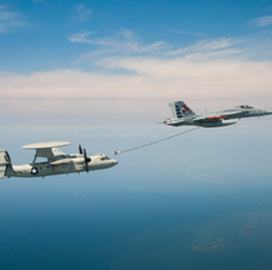 Northrop Completes Aerial Refueling System Design Review for Navy Hawkeye - top government contractors - best government contracting event