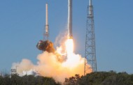 SpaceX Conducts Falcon 9 Static Fire Test for 12th ISS Cargo Resupply Mission's Monday Launch