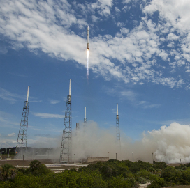 USAF Launches 10th Boeing-Built GPS IIF Satellite Aboard ULA Rocket - top government contractors - best government contracting event
