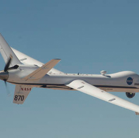 NASA to Put General Atomics Ikhana's Detect-Avoid Tools to 4th Round of Flight Tests; Heather Maliska Comments - top government contractors - best government contracting event
