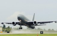 Air Force Subjects 2nd Boeing KC-46A to Initial Flight Test; Col. John Newberry Comments
