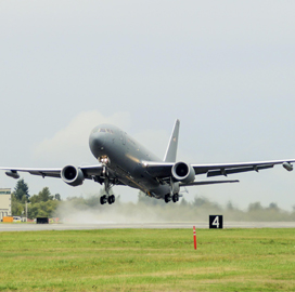DCS Receives Air Force Delivery Order for KC-46A Tanker Software Devt & Integration Support - top government contractors - best government contracting event
