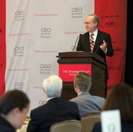 Raytheon's Thomas Kennedy: CEOs Should Review Company Cyber Strategies - top government contractors - best government contracting event