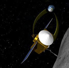 "Lockheed-Built OSIRIS-REx Spacecraft Obtains First ""˜Bennu' Asteroid Images - top government contractors - best government contracting event"