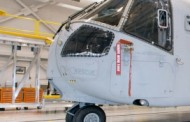 Erickson Hands 4th CH-53E Helicopter Tail Pylon to Sikorsky