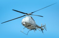 Northrop, Navy Demo Fire Scout Unmanned Helicopter in Sea Mine Detection Mission