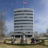 MSFC ADMINISTRATIVE COMPLEX (4200) IN THE SPRING OF THE YEAR