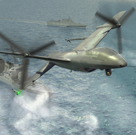 Marine Corps Starts Development of UAS Support Platform to Back Navy & Army Fleets - top government contractors - best government contracting event