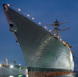 ExecutiveBiz - Huntington Ingalls Industries Delivers DDG 114 Ralph Johnson to Navy