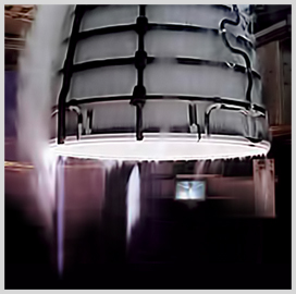 NASA Test Fires Aerojet Rocketdyne Engine for Space Launch System; Eileen Drake Comments - top government contractors - best government contracting event