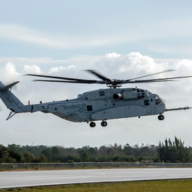 Sikorsky Gets Navy CH-53K Spare Parts Order - top government contractors - best government contracting event