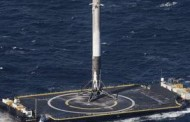 SpaceX's Falcon 9 Rocket Completes 1st Ocean Landing Following Spacecraft Launch