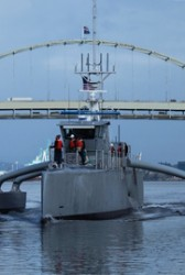 Sea Hunter Anti-Submarine Vessel Joins Naval Fleet; Nevin Carr Comments - top government contractors - best government contracting event