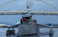 DARPA Christens Leidos-Built 'Sea Hunter' Autonomous Ship Demonstrator