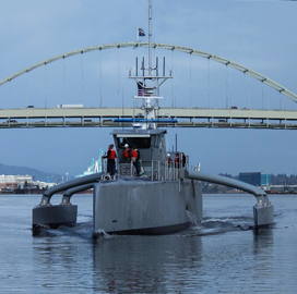 Leidos Starts Unmanned Surface Vessel Operational Test Under DARPA Program - top government contractors - best government contracting event