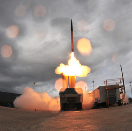 Aerojet Rocketdyne Hands THAAD Missile Booster Motor, Control System to MDA; Eileen Drake Comments - top government contractors - best government contracting event